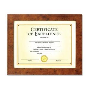 Burnes Haverland Burl Document Frame - 8.5