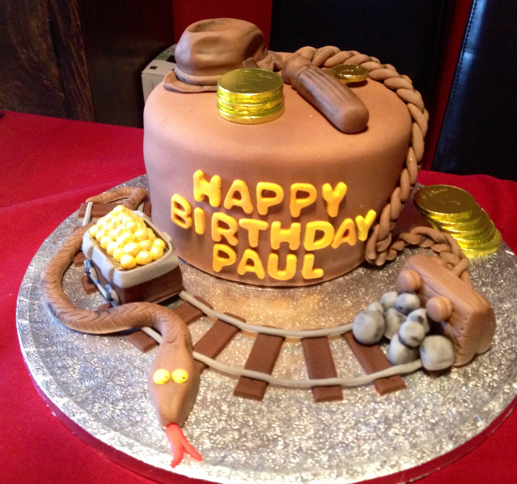 Indiana Jones Cake Decorating Kit