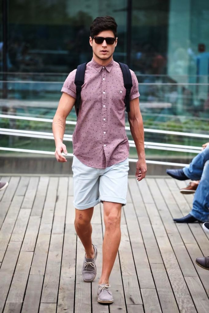b1b60ab63831 50 Stylish Short Outfits For Men To Wear