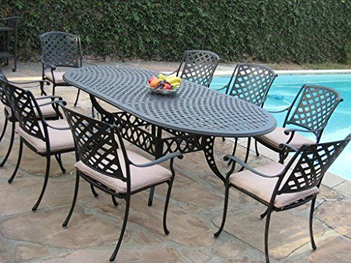 pin by patiodiningset1 on best wrought iron patio furniture reviews rh pinterest com Wholesale Cast Aluminum Patio Furniture Outdoor Patio Furniture