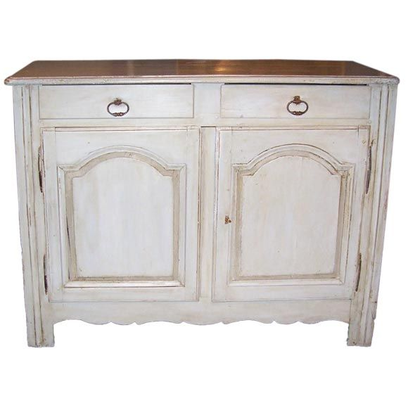 Louis XVI Provincial Style Painted Buffet