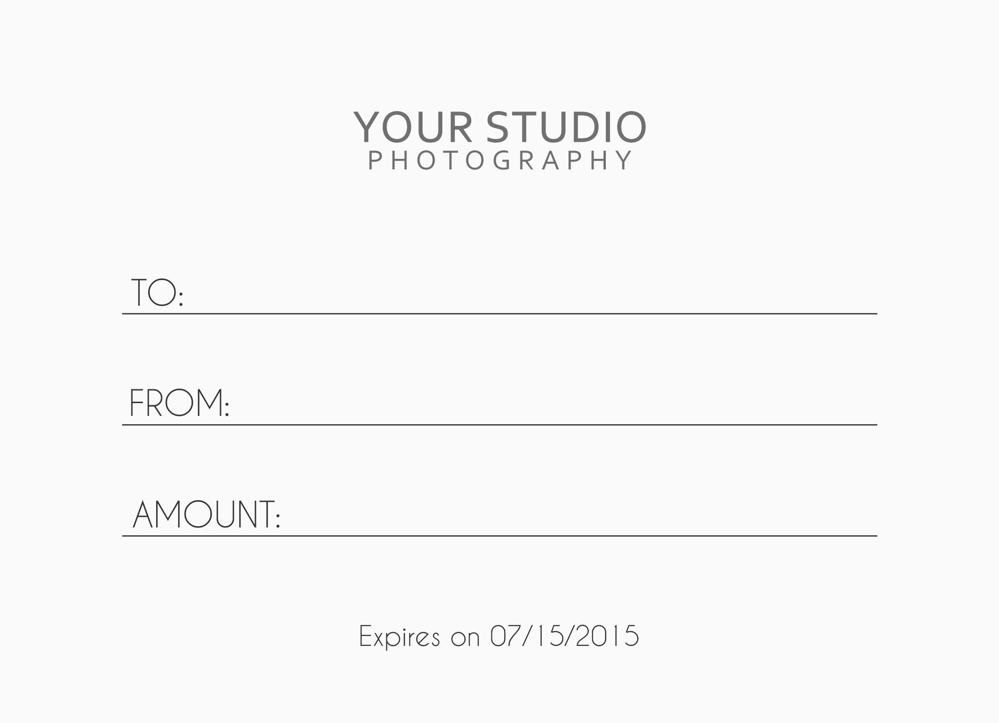Photographer gift certificate photoshop template by posy prints photographer gift certificate photoshop template by posy prints design yadclub Image collections