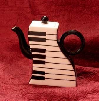 Mini Teapot with Keyboard