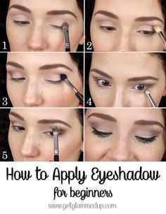 How to Apply Eyeshadow for Beginners step-by-step natural makeup ...