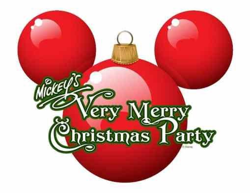 mickeys very merry christmas party logo