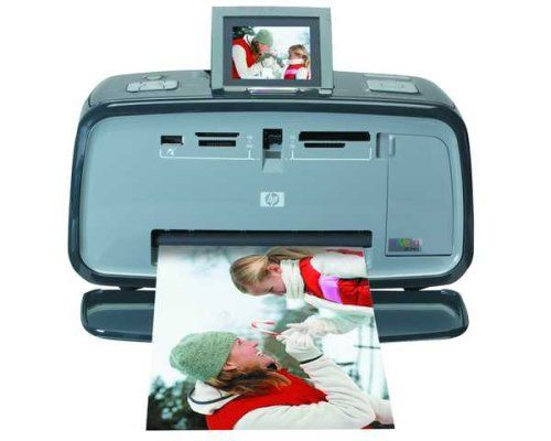 HP A618 Photosmart Compact Photo Printer with Built-in Wireless Bluetooth Technology [CE] #bluetoothtechnology