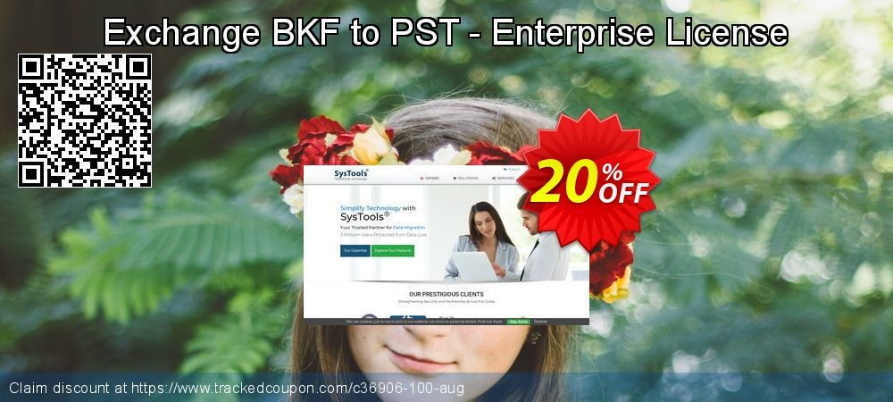 25 Off Systools Exchange Bkf To Pst Enterprise License Promo