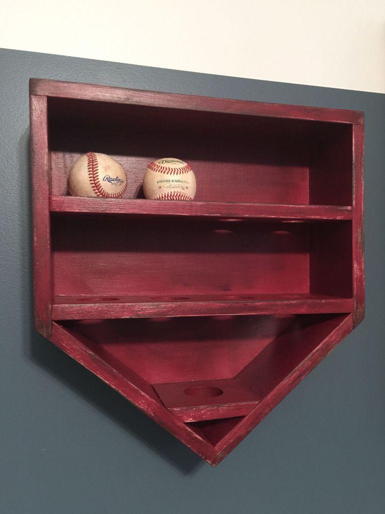 eba8388d25a Build your baseball star a baseball holder for all his game balls! Keep the  theme