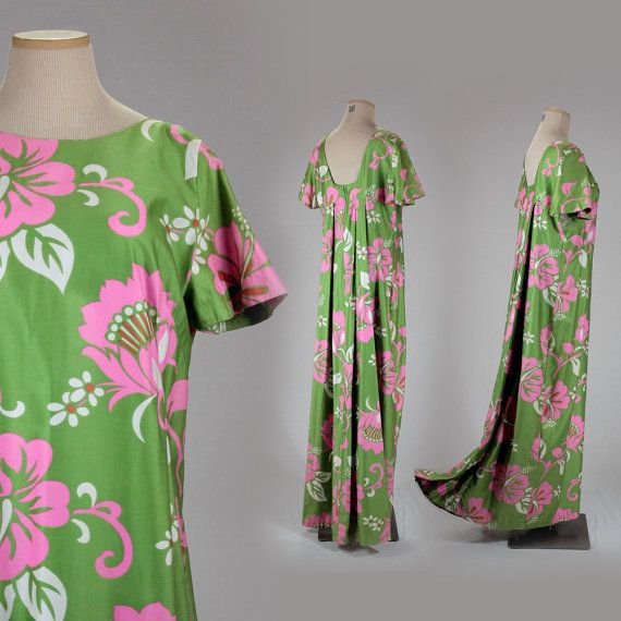 Long muumuu dresses hawaii