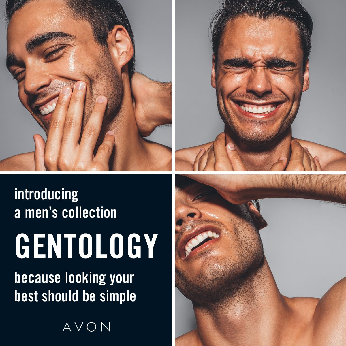 Introducing Gentology A Men S Collection Because Looking Your Best Should Be Simple Lather Up With This One And Done Formula Which Serve In 2020 Avon Men Shop Avon
