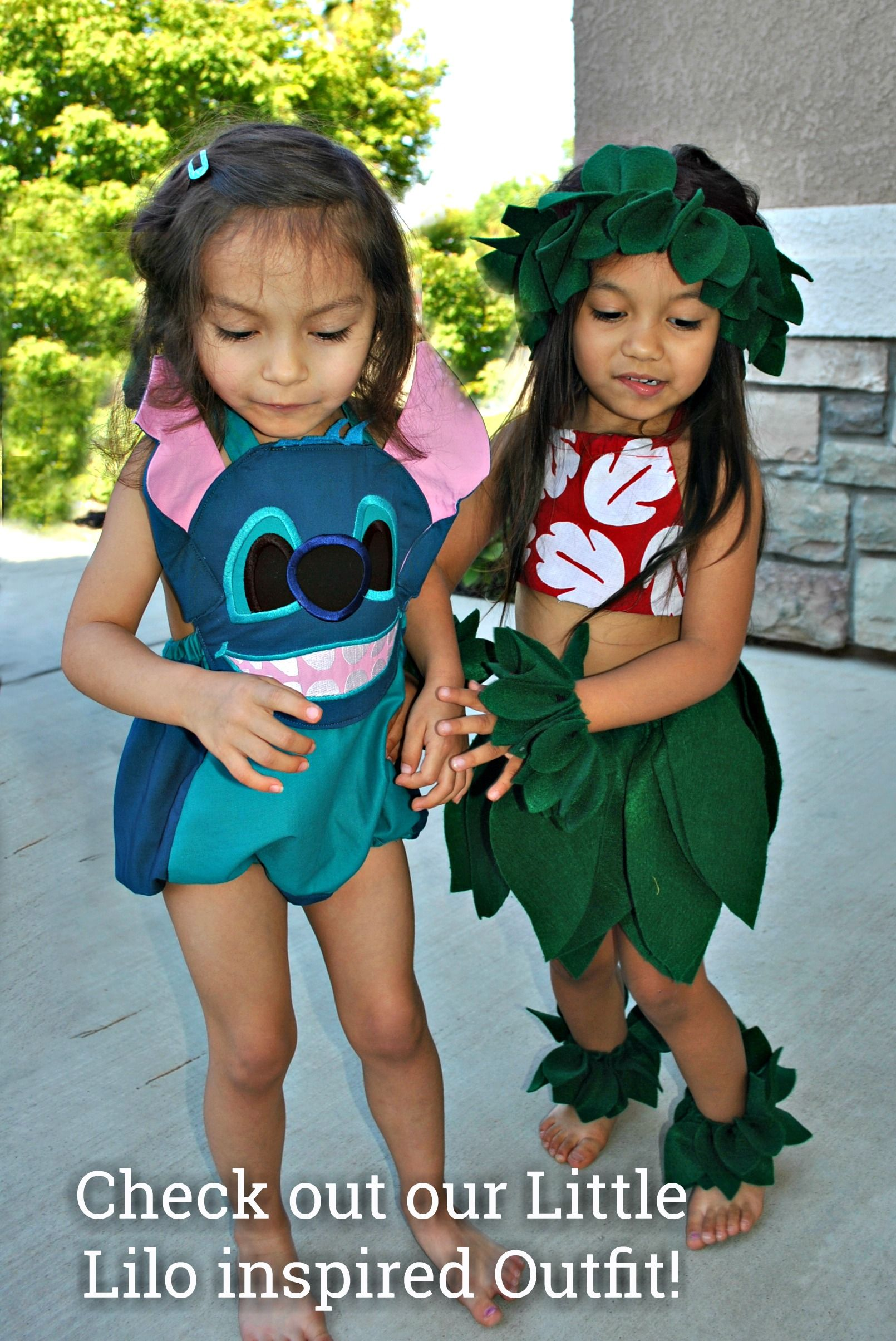 Lilo Costume Halloween Costumes For Girls Diy Costumes Kids Stitch Costume