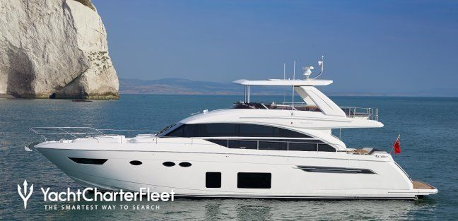 SHAWLIFE Yacht Charter Price - Princess Luxury Yacht Charter