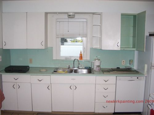 1950s kitchens Ikea Kitchen Remodel at Newkirk Painting Plus