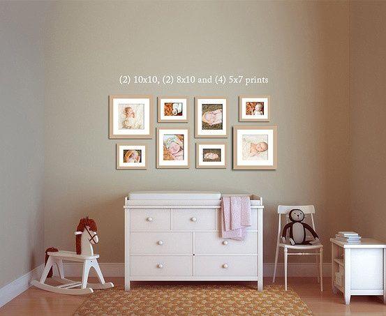 как правильно развесить фотографии на стене Как красиво и ...