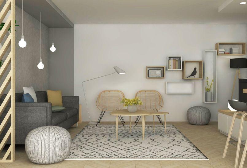 Quartier monplaisir décoration aménagement rénovation architecture intérieure appartement lyon
