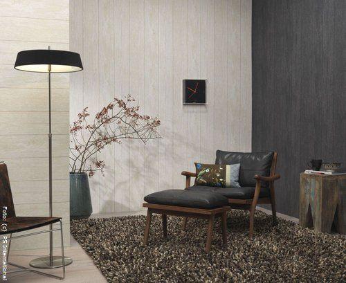 Wände in Grau, Braun und Weiss oder hellem Beige wirken edel und - graue tapete wohnzimmer