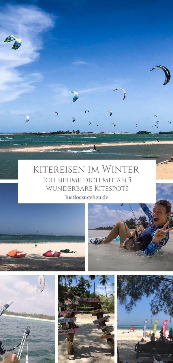 Photo of Kitesurfing in winter – find the right travel destination!   lustlosgeht.de