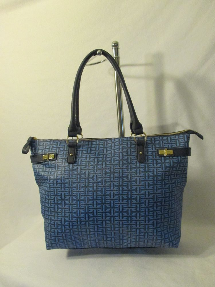 Tommy Hilfiger Handbag Tote Style 6933912 Retail Price $ 99.00 Ship Worldwide #TommyHilfiger #Tote