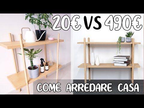 Come ARREDARE CASA con 20€ vs 490€ ARREDAMENTO COSTOSO