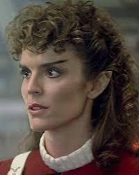 Robin Curtis is Lt Saavik in Star Trek III and Star Trek IV
