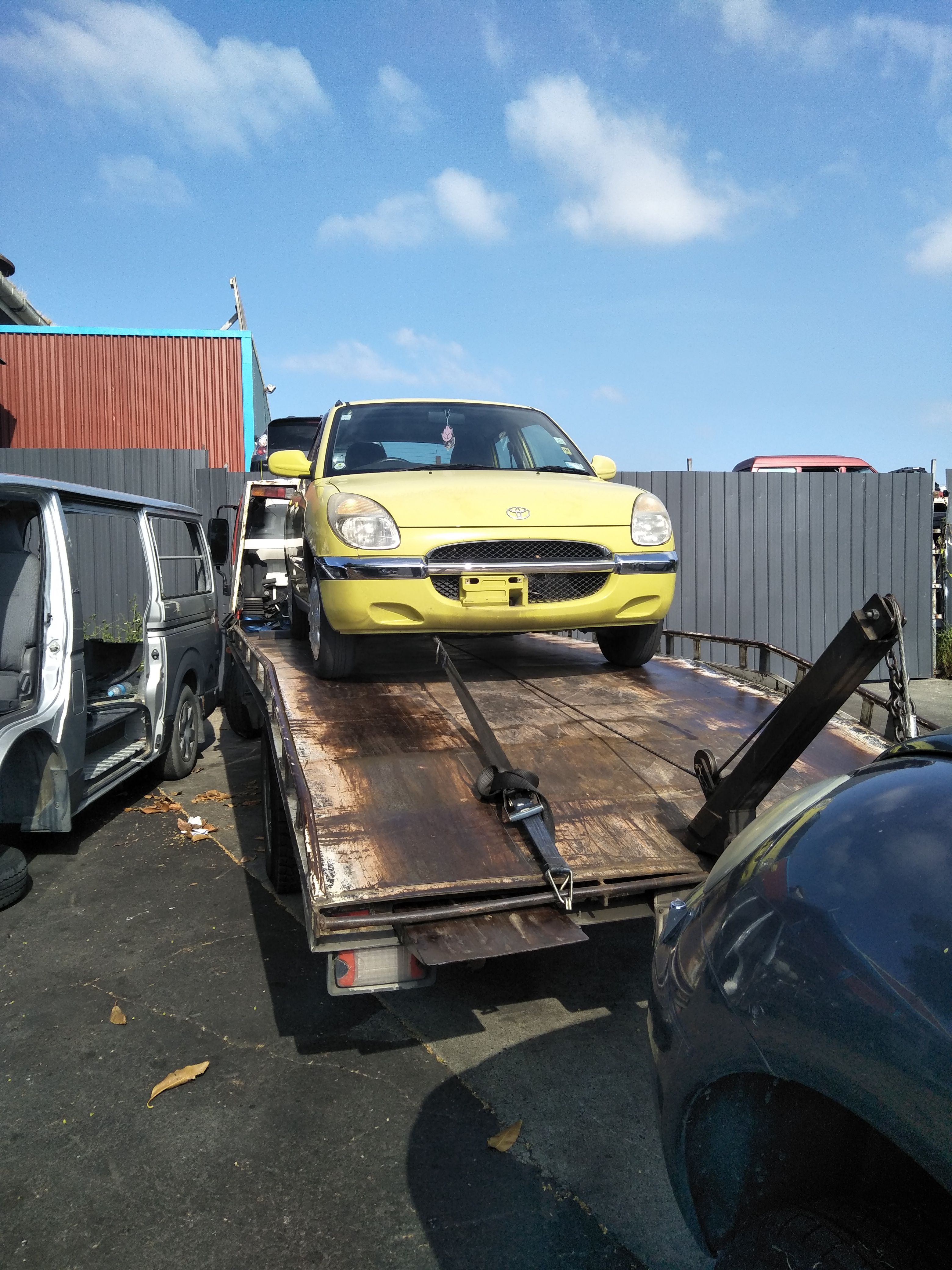 Got an old rusty car truck ute 4x4 sitting on your