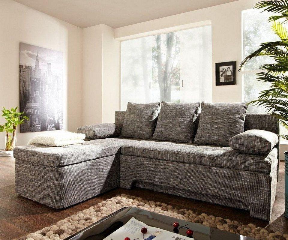 Delife Couch Juline Grau 200x155 Mit Schlaffunktion Pinterest