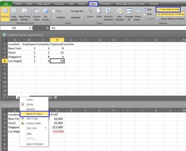 How to combine two or more excel spreadsheets microsoft