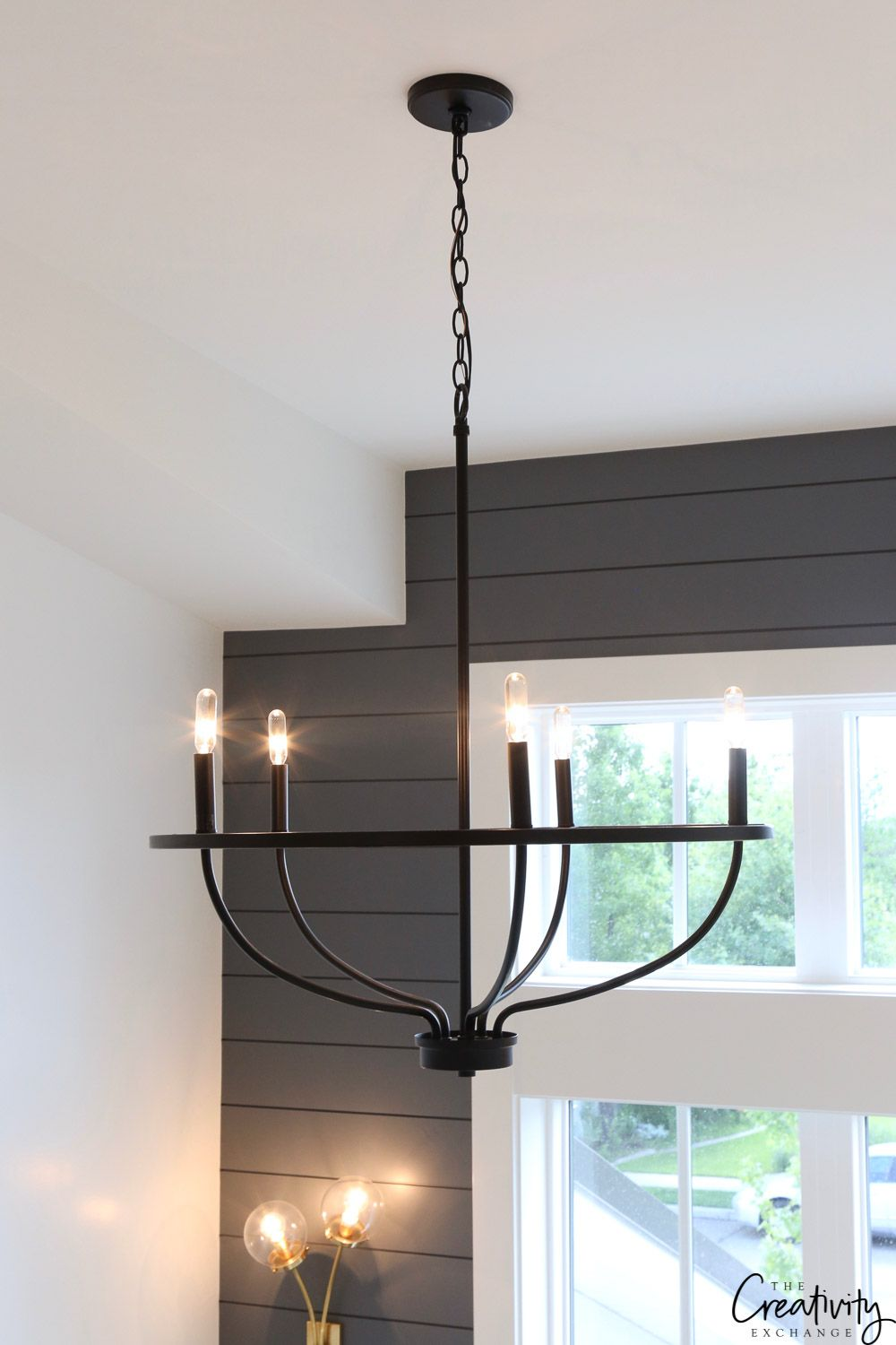 Modern Farmhouse Home Tour Millhaven Homes In 2020 Farmhouse Light Fixtures Modern Farmhouse Lighting Iron Chandeliers