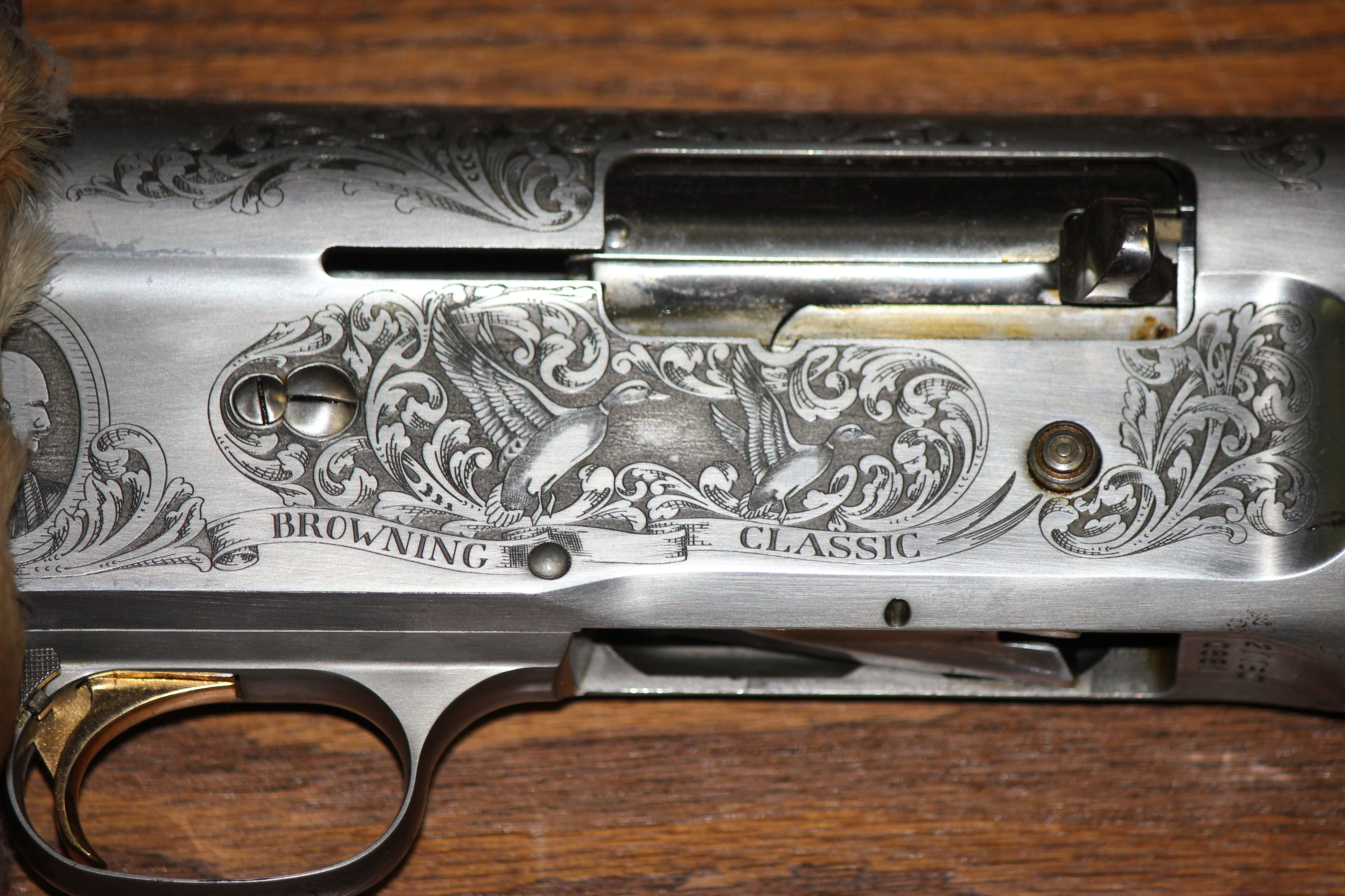 This is a browning auto 5 classic all hand engraved by fn this is a browning auto 5 classic all hand engraved by fn brownings master engravers in pooptronica