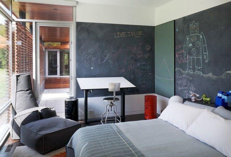 colores paredes dormitorios pintura pizarra