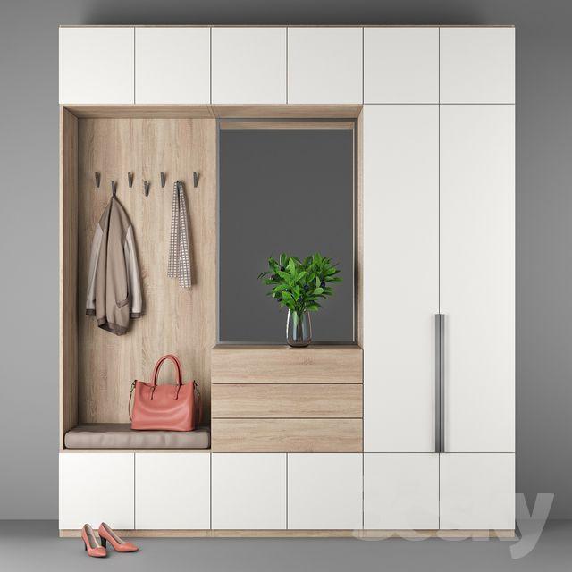Flure Haus Deko Und Flur Design: 3d Models: Wardrobe & Display Cabinets