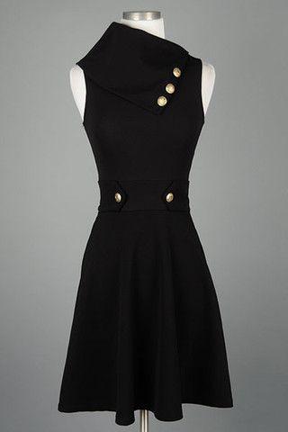 Classy Dress - Black  208df2a81e6
