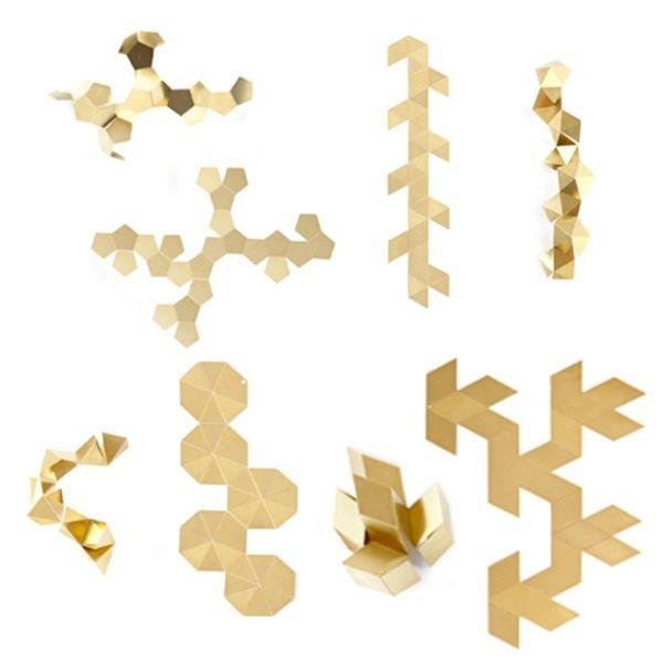 deckengestaltung selbermachen ideen deko diverse formen | Papier ...