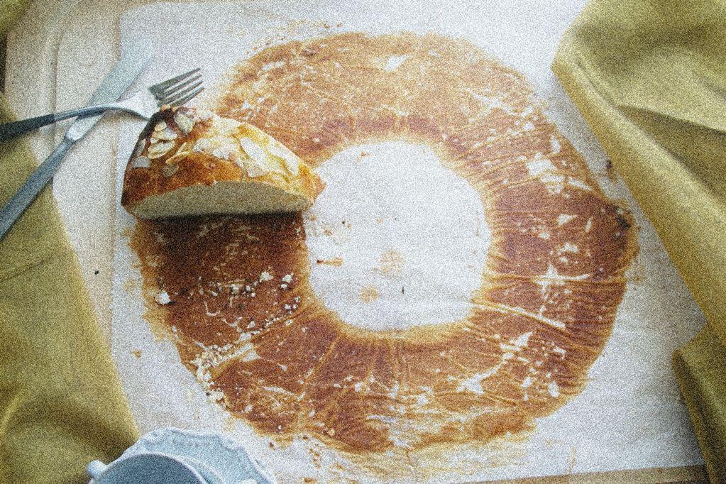 Roscón de Reyes. Blog Jugando en la cocina
