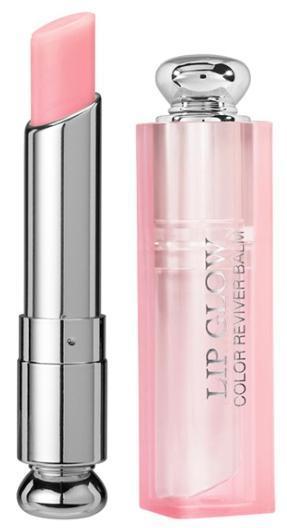 Sheer pink lip balm