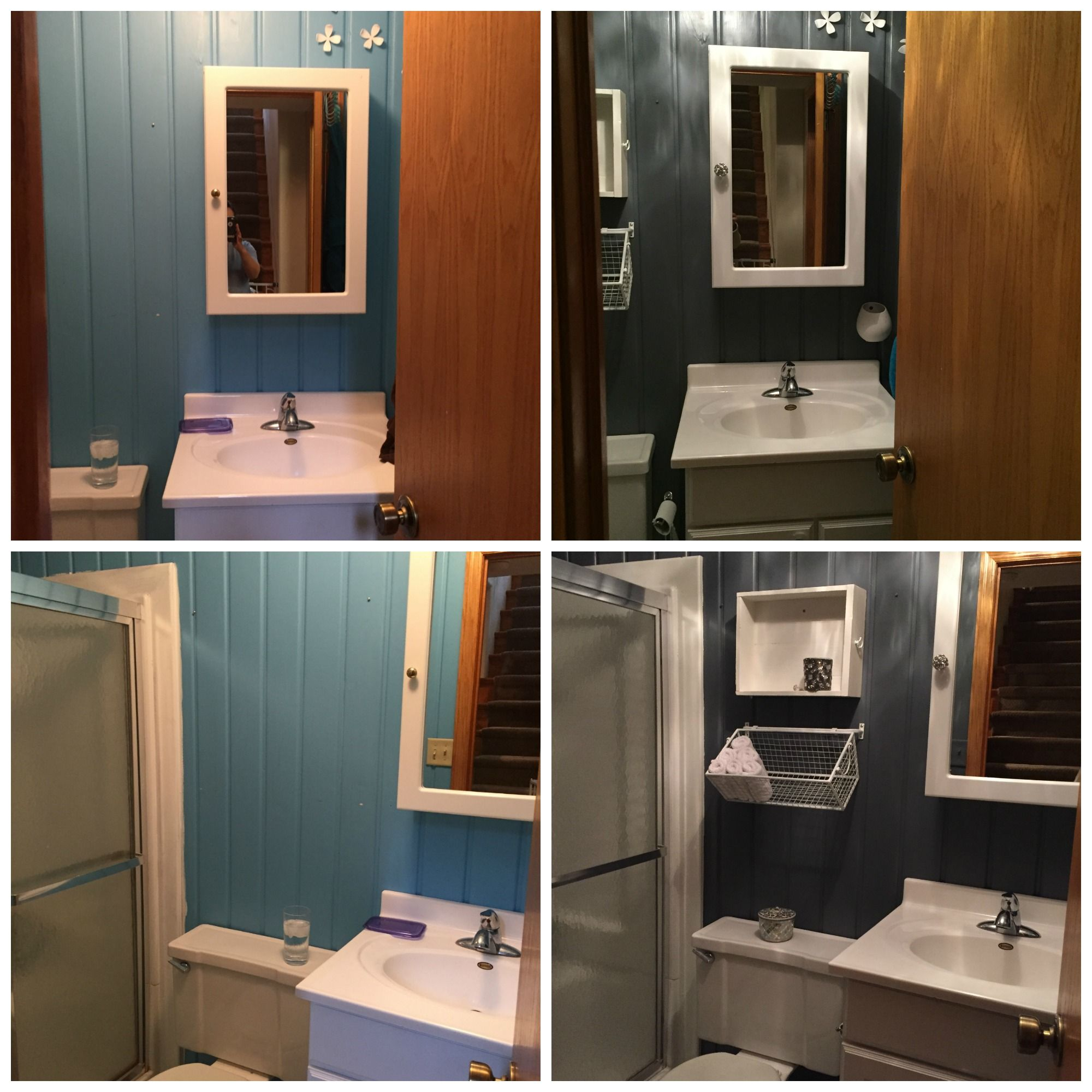 Bathroom Before And After (Soul Interiors, Bismarck, ND)