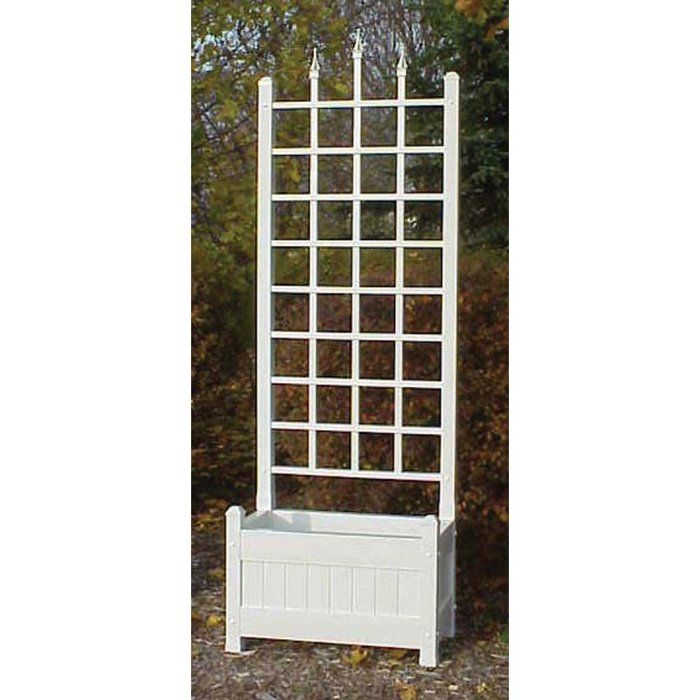 Camelot Planter Trellis would look beautiful along the walk to the ...