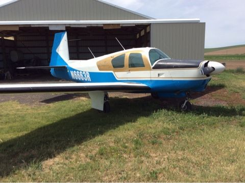 1964 Mooney M20c For Sale In Lacrosse Wa United States Www