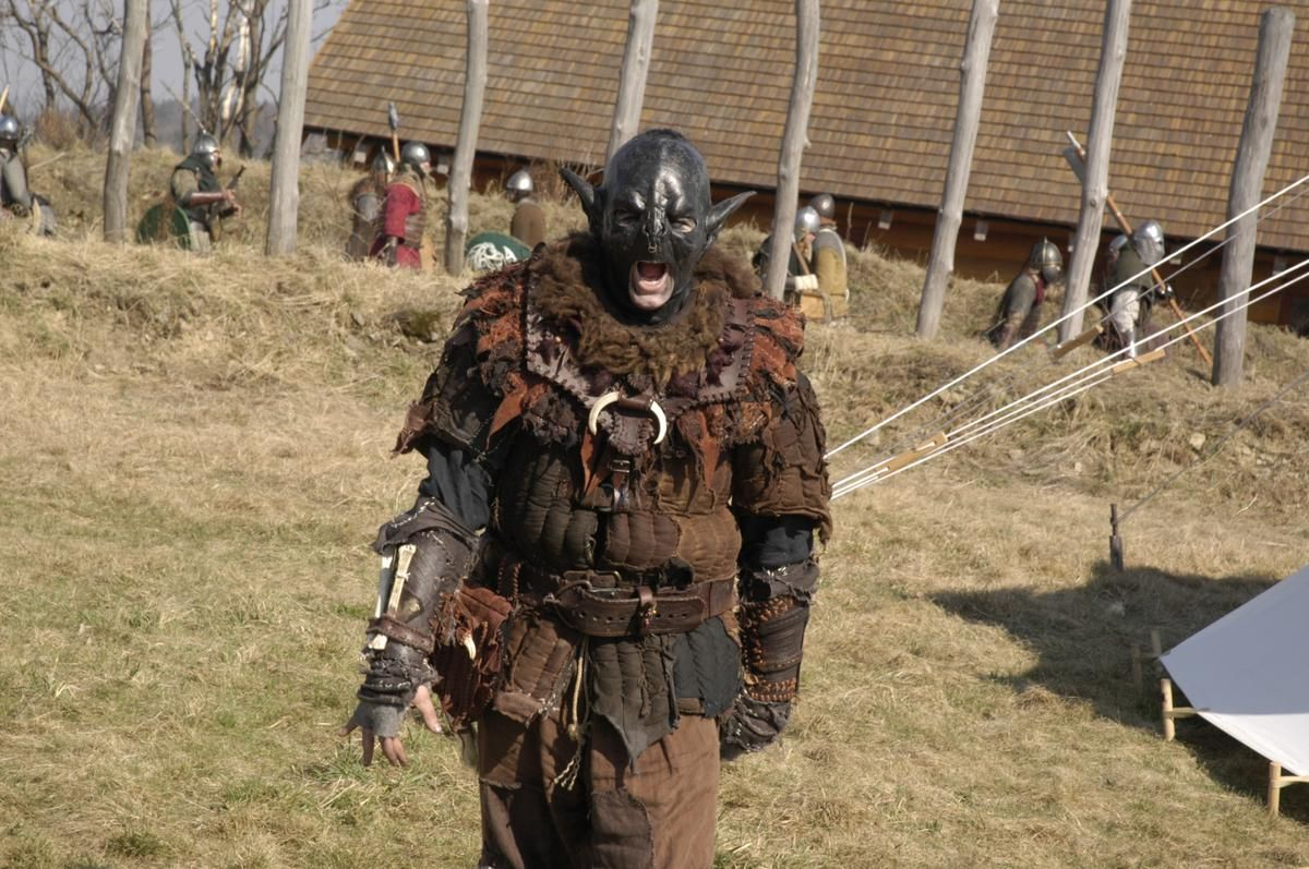 Orc warrior - The Westfold LARP