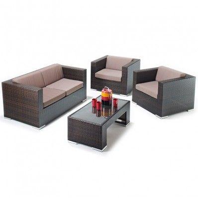 Mendoza Sofa Set Rattan Garden Furniture | Conservatory pieces ...