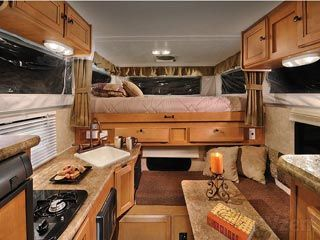 Demountable Camper Interior Google Search Remodeled Campers