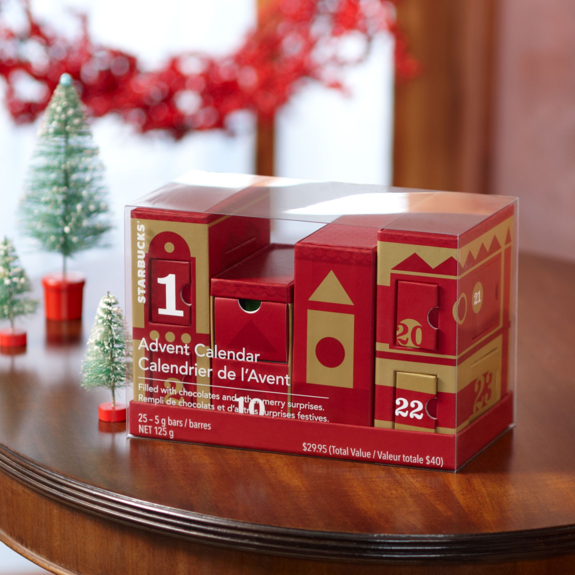 Starbucks® Advent Calendar (With images) Advent