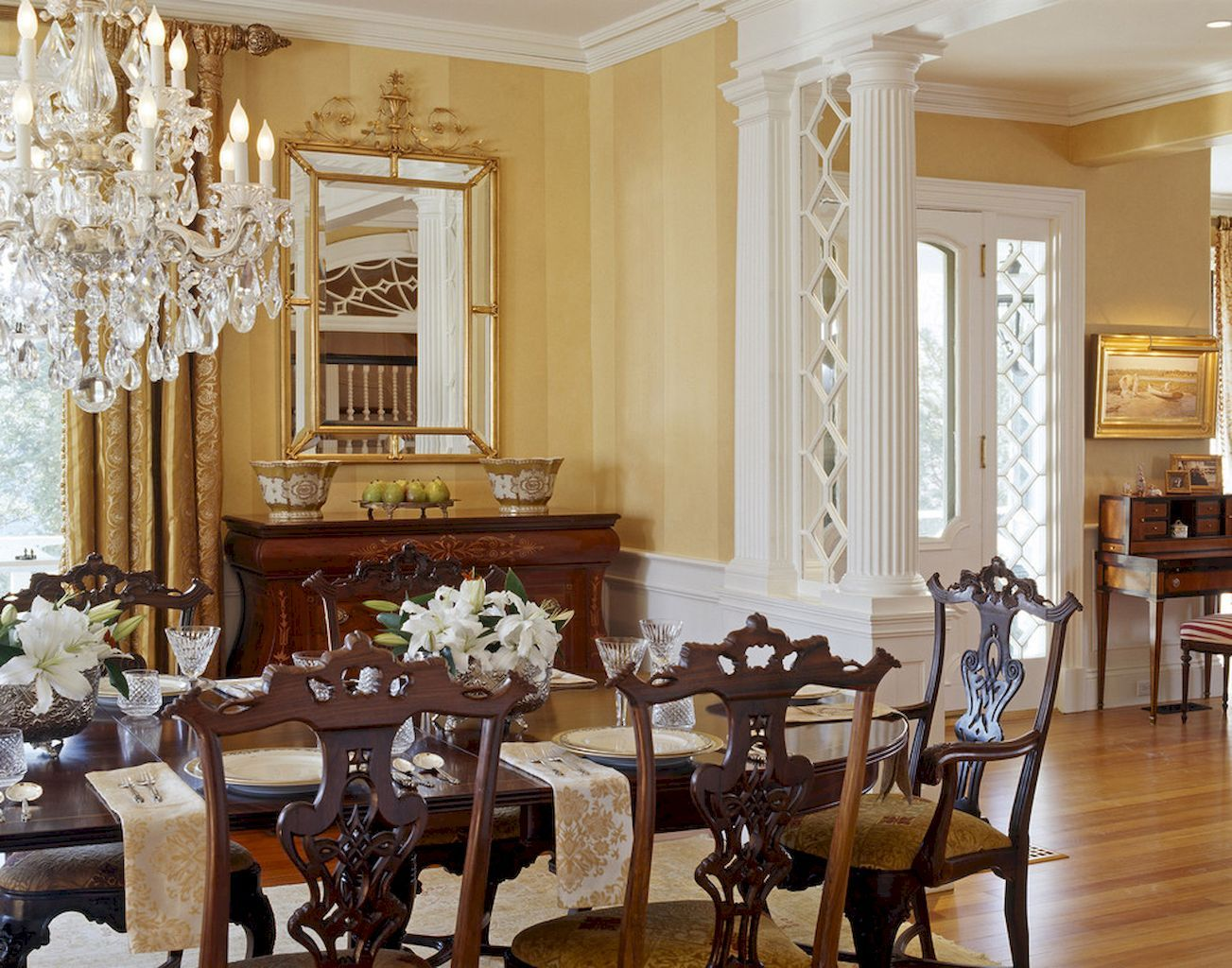 55 Vintage Victorian Dining Room Decor Ideas  Victorian Dining Beauteous Victorian Dining Room Decor Review