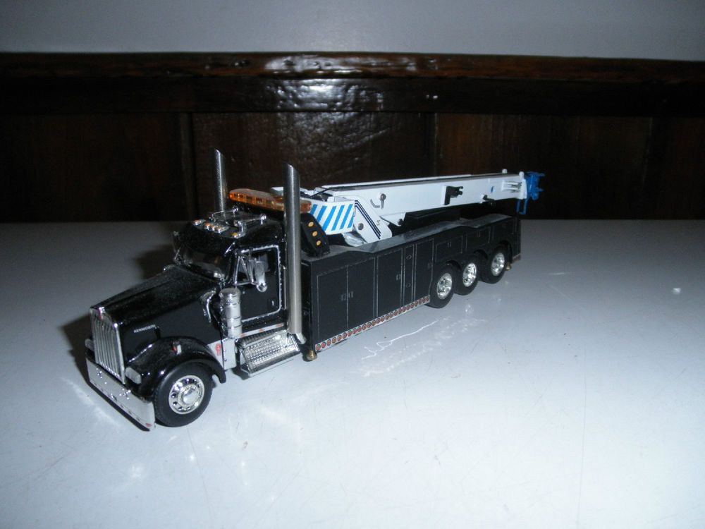 1 64 Custom Dcp Kenworth Triaxle Rotator Wrecker Tow Truck Ertl Toy Trucks