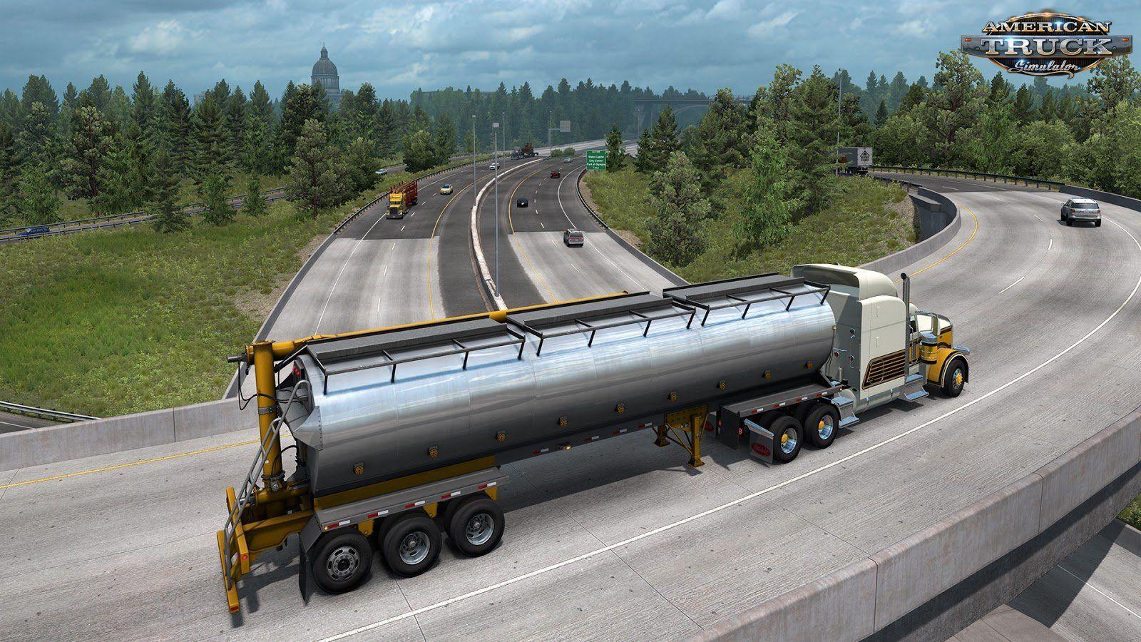 American Truck Simulator Update 1 36 Open Beta By Scs American Truck Simulator Simulation Digital Gauge