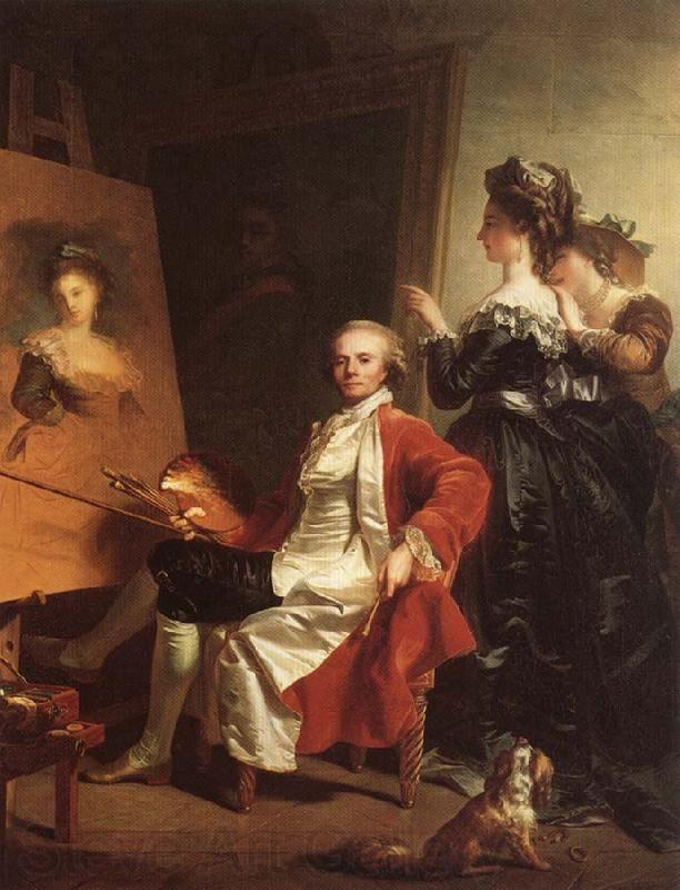 Self-Portrait ~ Jean-Laurent Mosnier (French Paris - d. Petersburg)