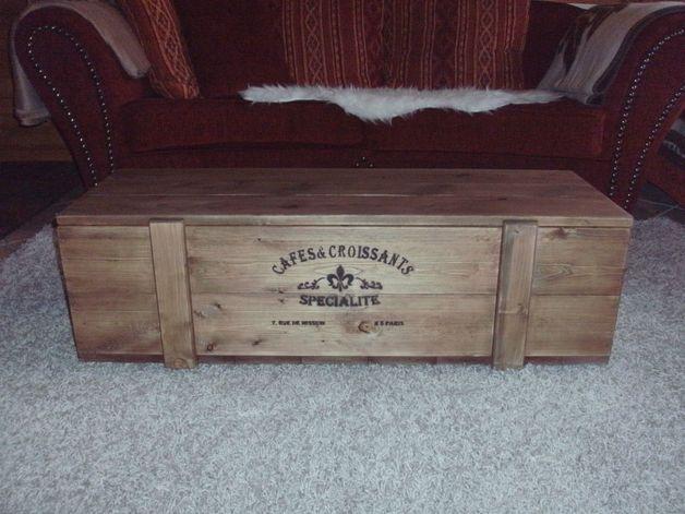 Schlafzimmer Truhe ~ Vintage couchtisch army truhe rollbar weiß auswahl: 1 x vintage