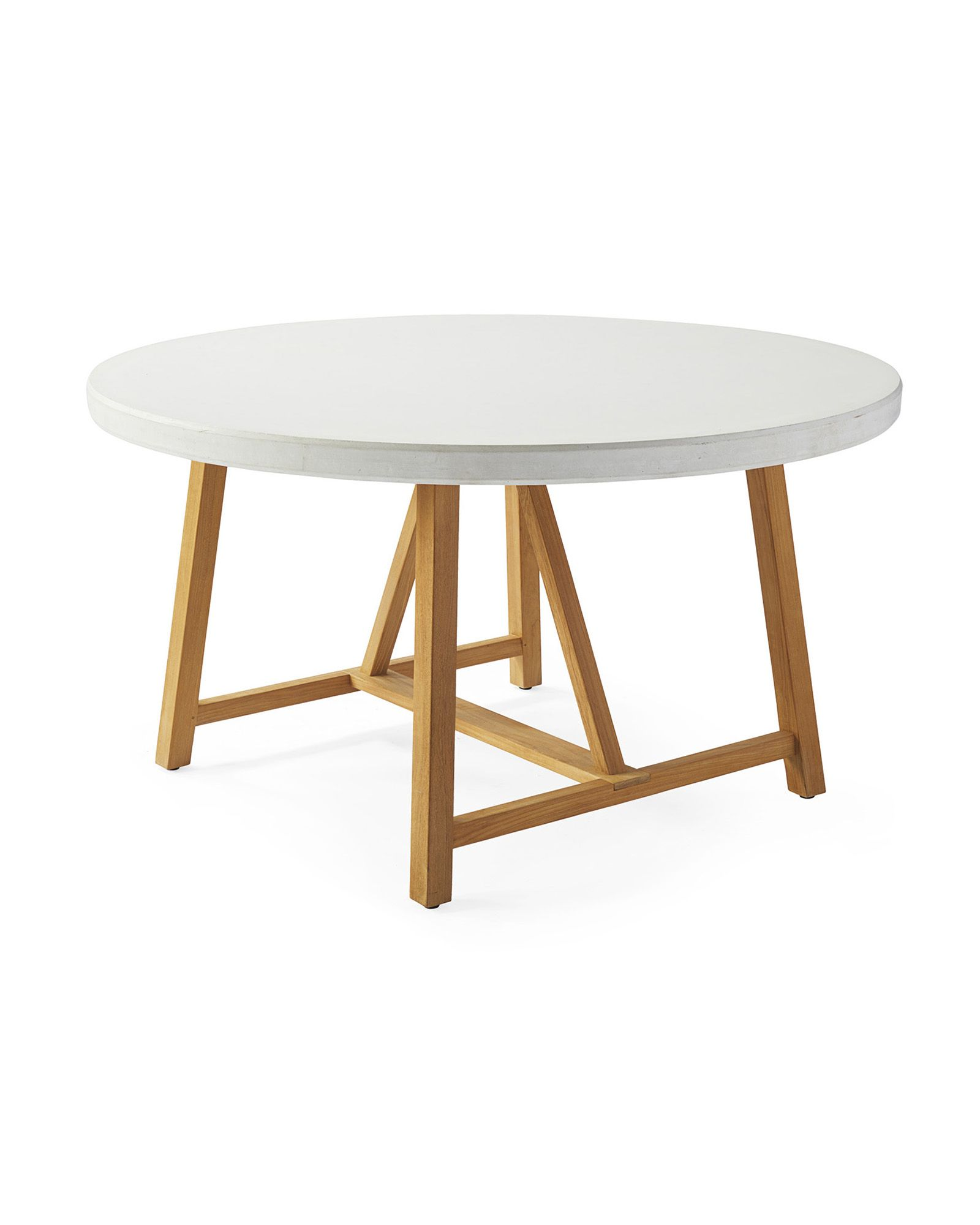 Terrace Teak Dining Table Serena Lily Round Wooden Dining Table Dining Room Table Teak Dining Table [ 2000 x 1600 Pixel ]