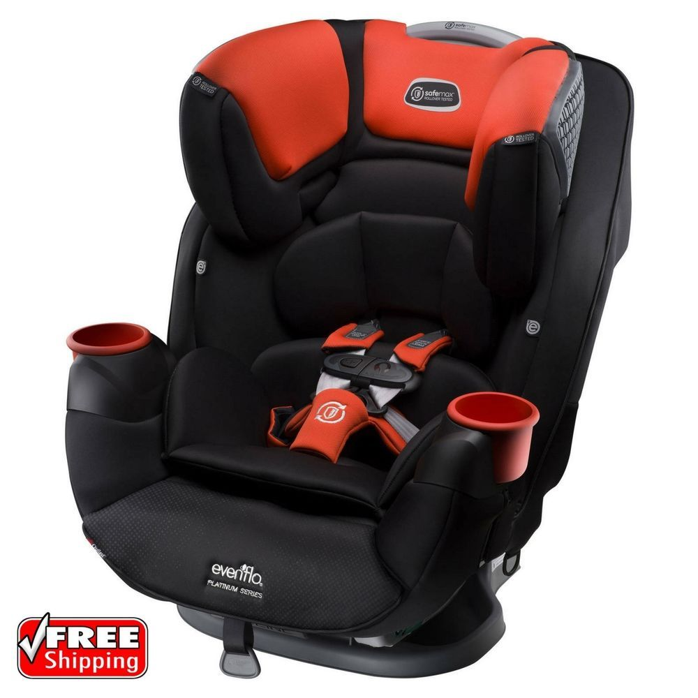 Evenflo Platinum SafeMax AllInOne Convertible Baby