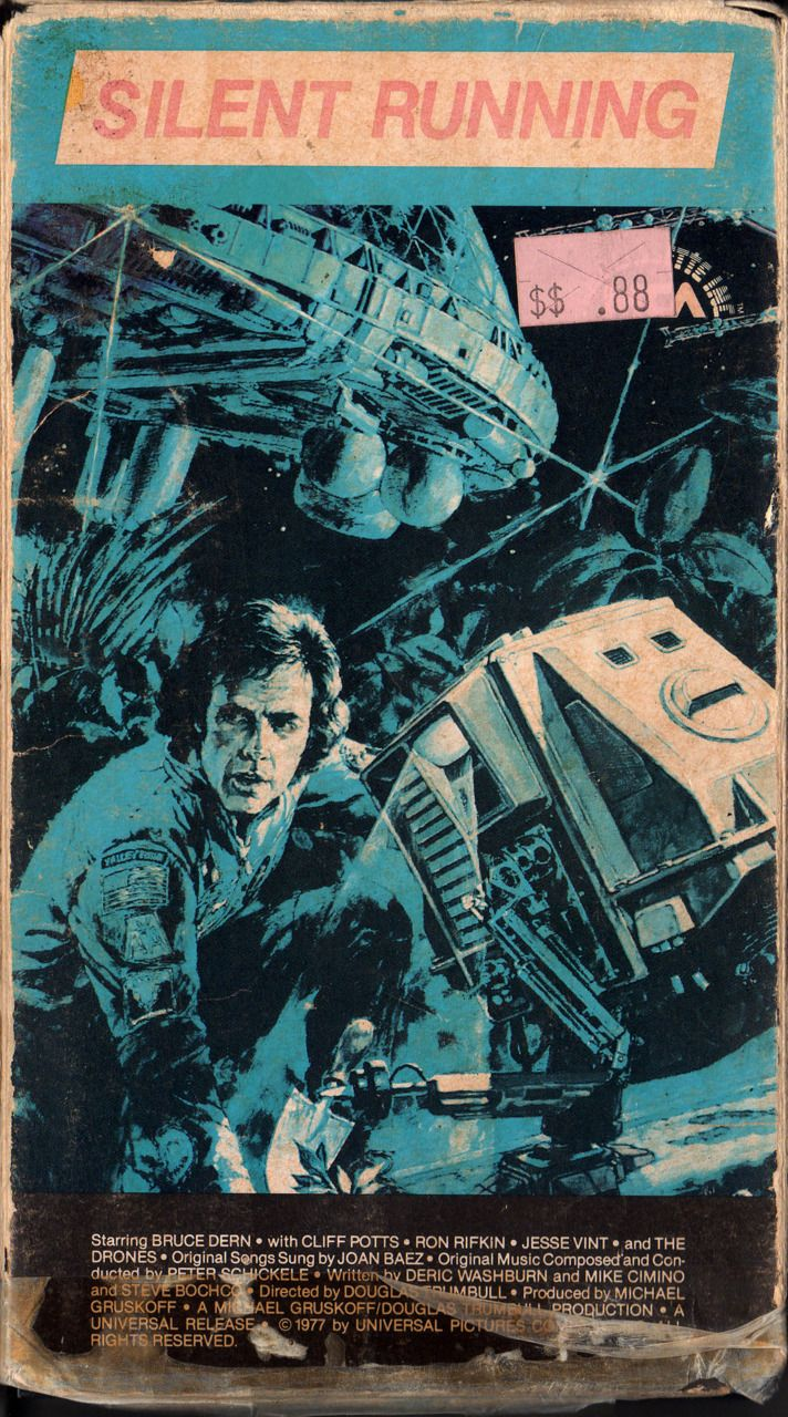 Pin By Duncan Turner On Movie Posters Silent Running Best Movie Posters Classic Sci Fi